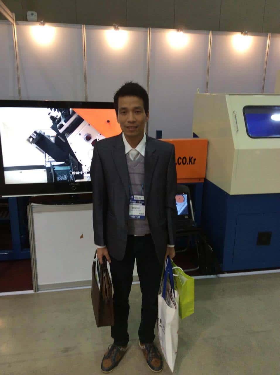 Tham quan máy móc công nghệ ở Hàn Quốc