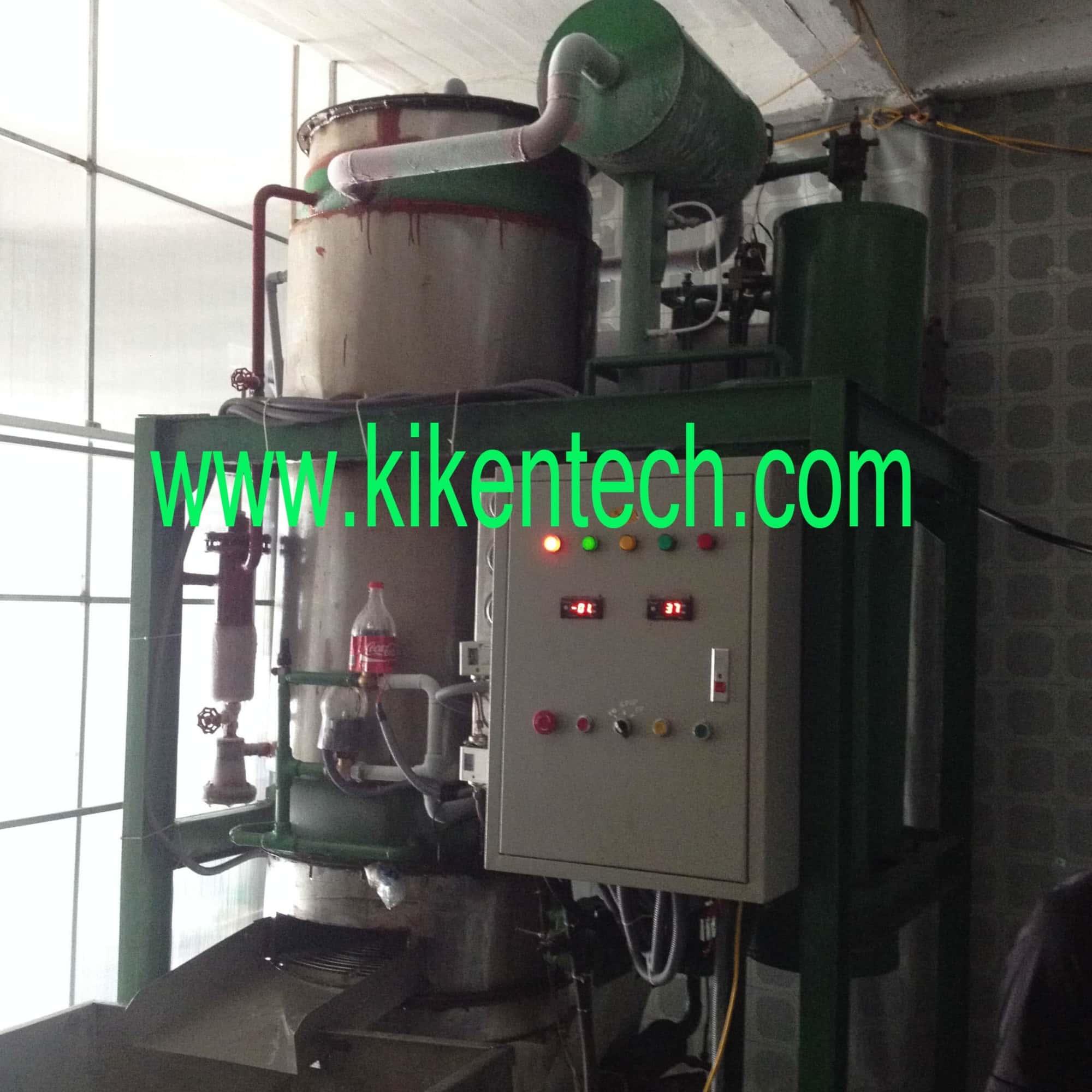Lắp đặt máy sản xuất đá viên 3 Tấn ở Nam Định