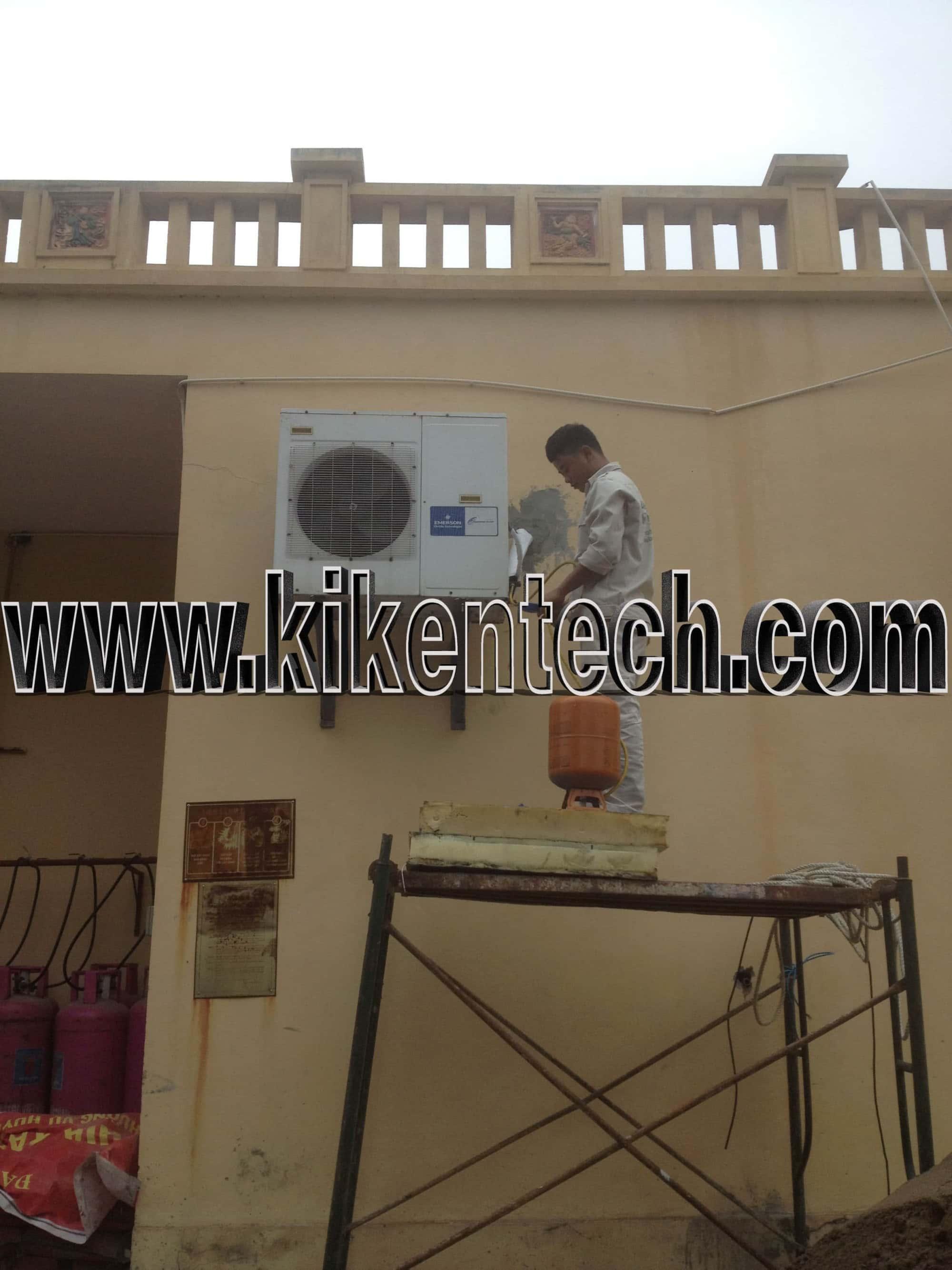 Bảo dưỡng di chuyển kho lạnh tại khu Resort Vân Long Ninh Bình