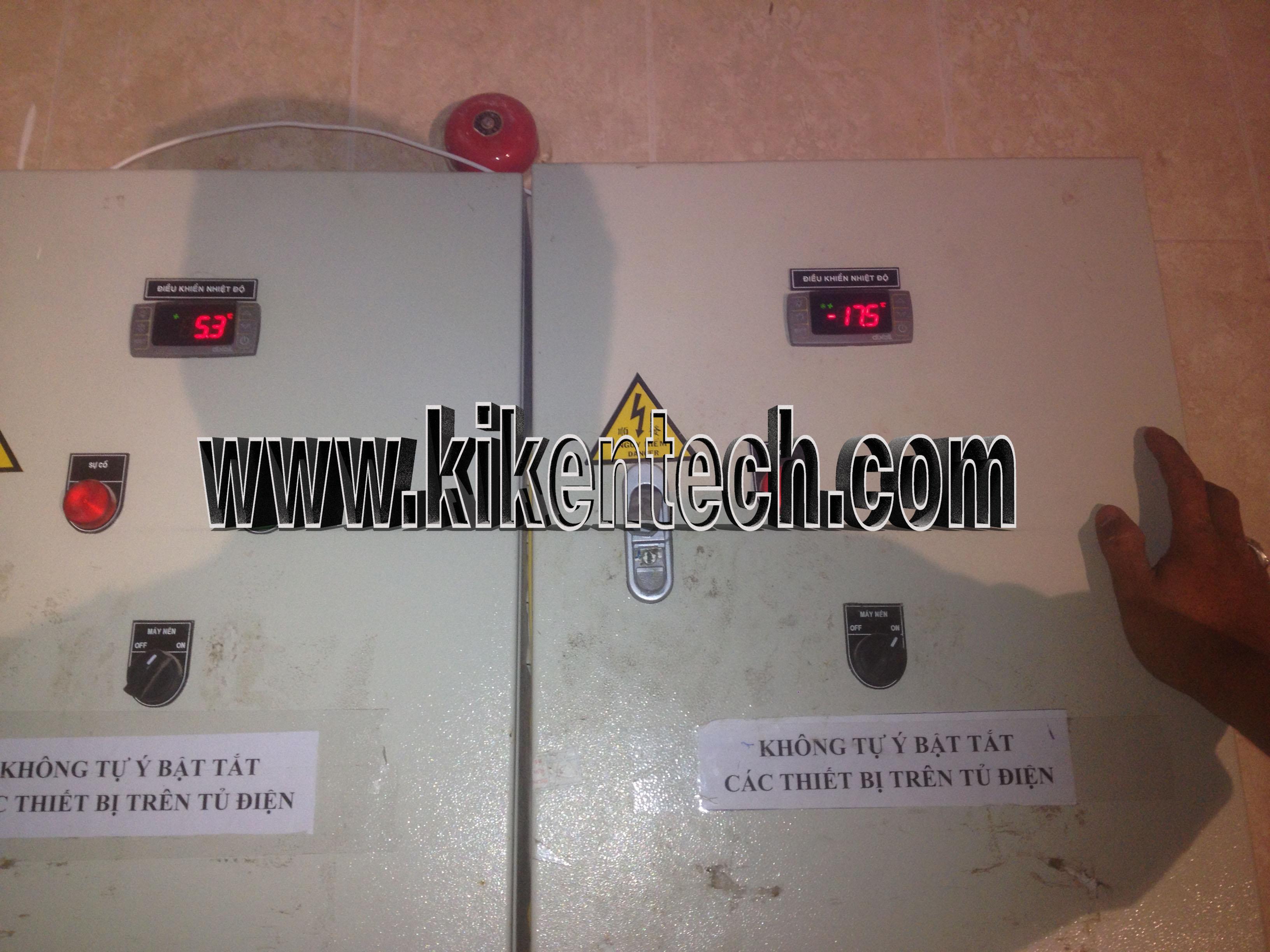 Bảo dưỡng di chuyển kho lạnh tại khu Resort Vân Long Ninh Bình. Kikentech là đơn vị chuyên lắp đặt kho lạnh bảo quản, lắp kho lạnh cấp đông, làm phòng mát.