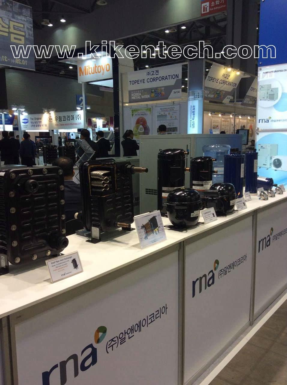 Triển lãm máy móc công nghệ COEX Korea