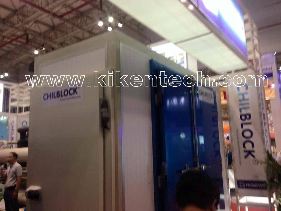 Tham quan máy móc công nghệ ở Hàn Quốc tại hội chợ triển lãm korea