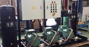 Xưởng sản xuất cụm máy dàn ngưng tại Incheon - Korea