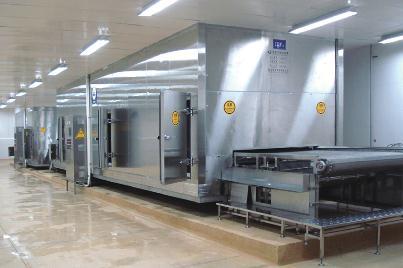 Lắp đặt hệ thống cấp đông IQF