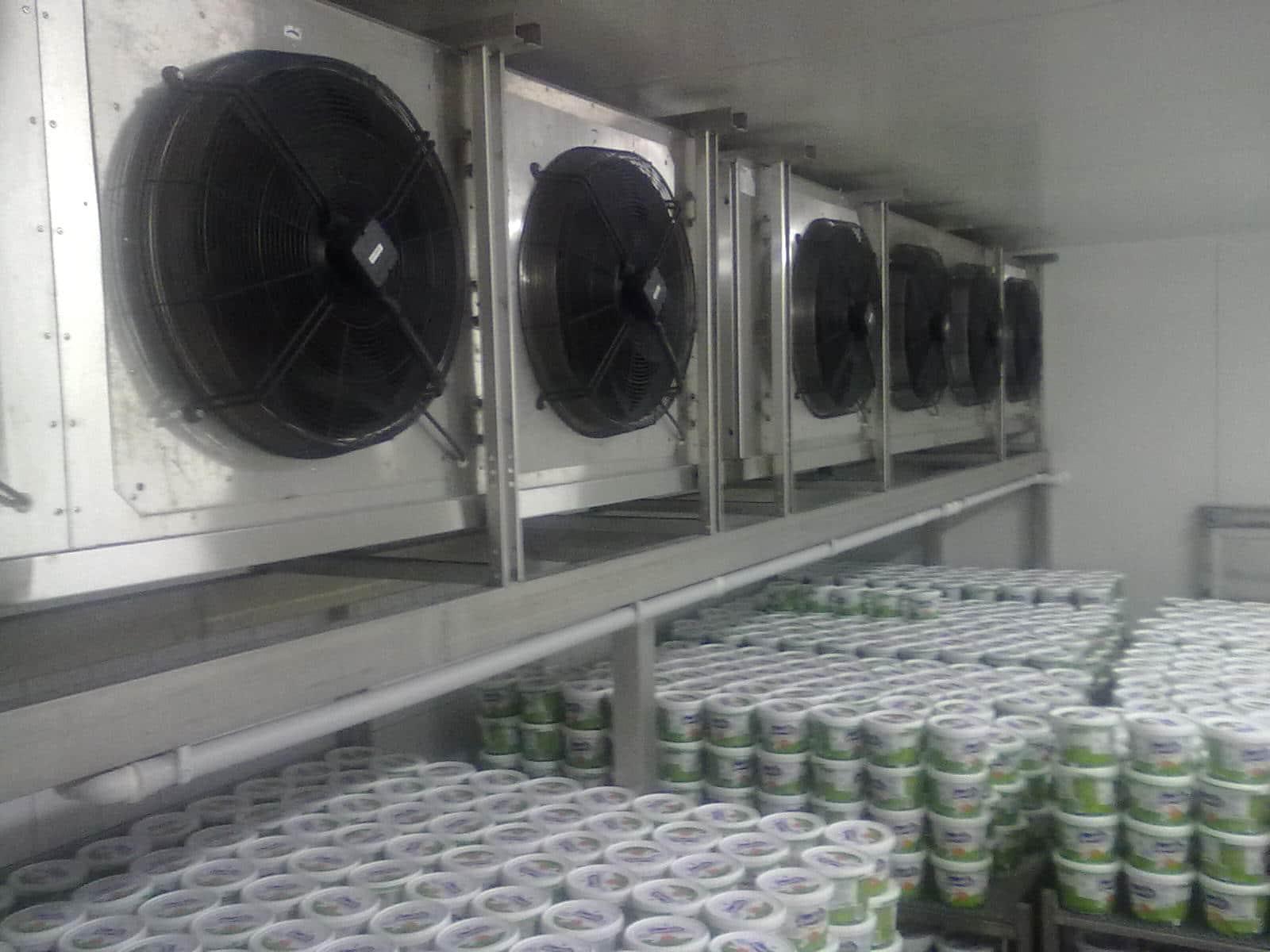 Thi công lắp đặt kho lạnh bảo quản kem