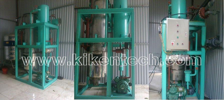 Lắp đặt máy sản xuất đá viên 2 tấn