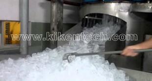 Quá trình sản xuất đá viên