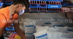 sản xuất đá sạch