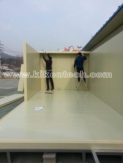 Hướng dẫn thiết kế lắp đặt kho lạnh bảo quản, kho lạnh công nghiệp. Làm nền móng kho lạnh bảo quản, cách thi công, làm kho lạnh bảo quản. 0944.899.886