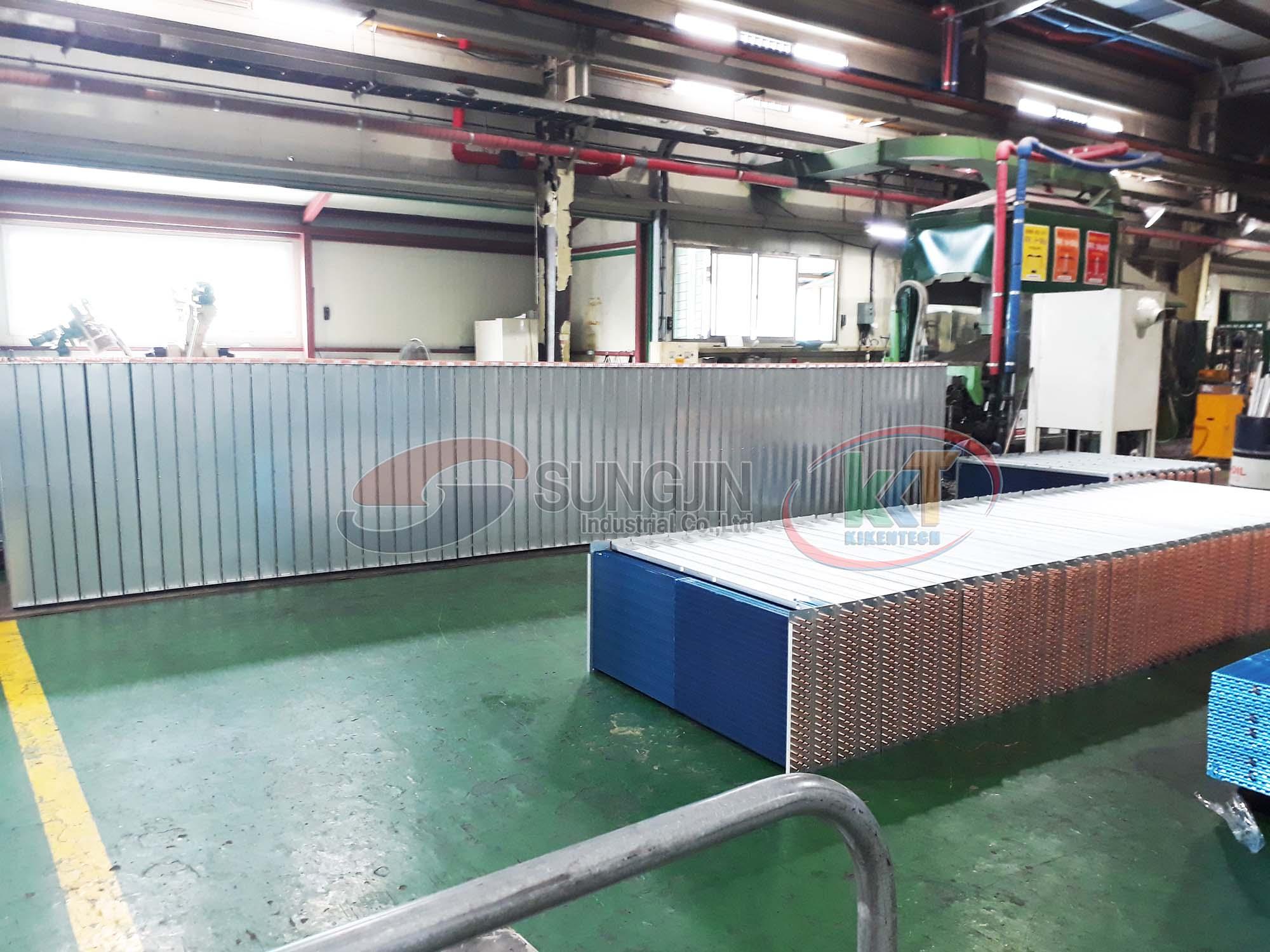 2Tham quan xưởng sản xuất, xưởng lắp đặt, kho máy móc của Sungjin tại Hàn Quốc