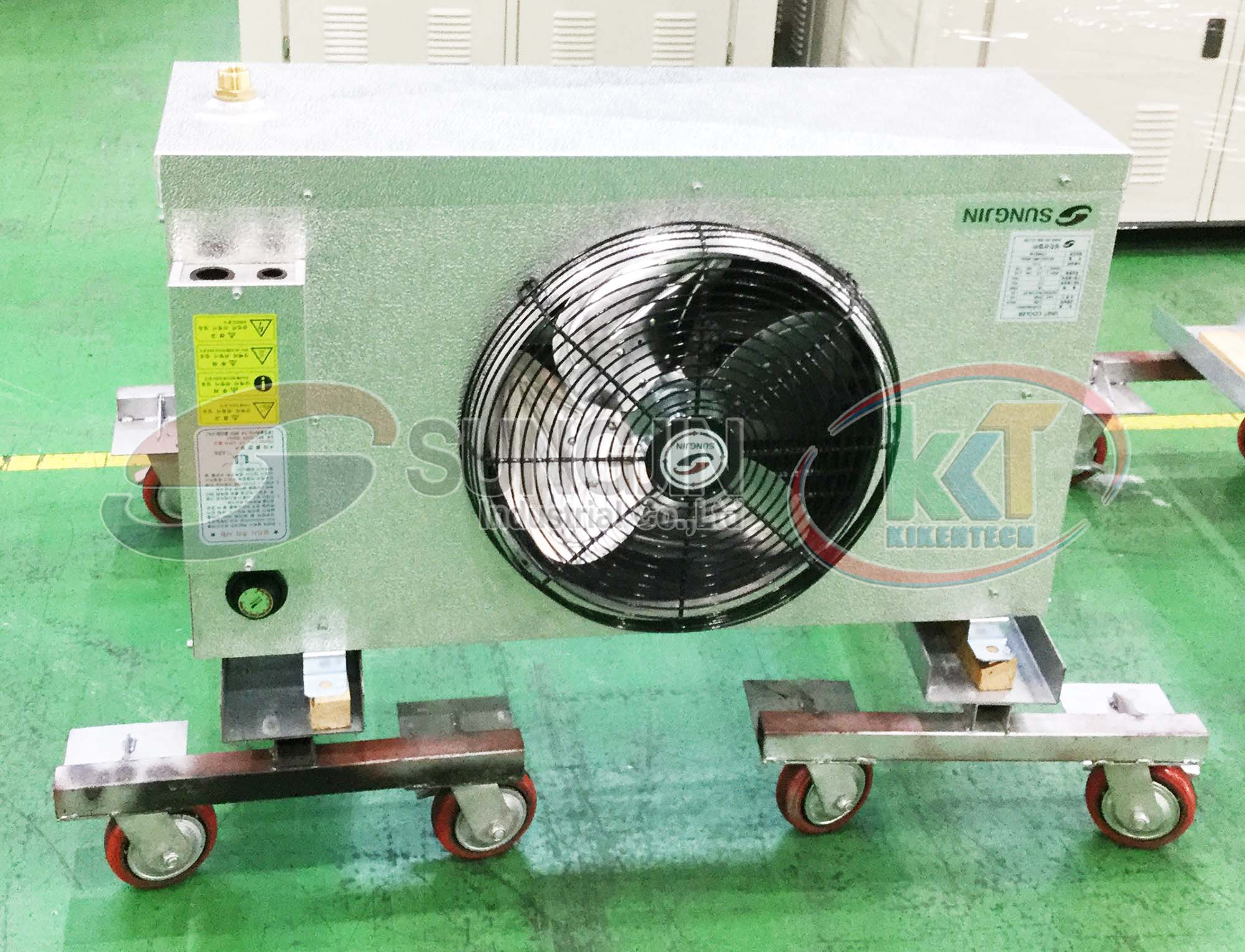 Tham quan xưởng sản xuất, xưởng lắp đặt, kho máy móc của Sungjin tại Hàn Quốc