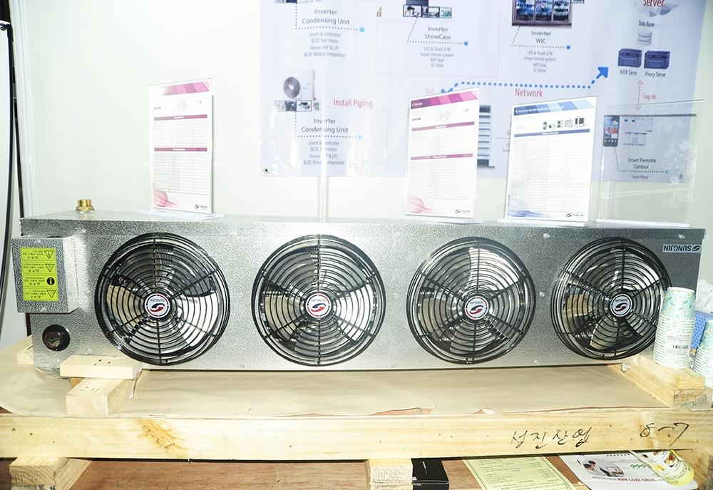 Dàn lạnh công nghiệp SUTS loại nhỏ tiết kiệm không gian lưu trữ kho lạnh, dàn lạnh Sungjin SUTS, dàn lạnh kho đông lạnh nhỏ, dàn lạnh sungjin, dàn lạnh sungjin suts, dàn lạnh công nghiệp suts