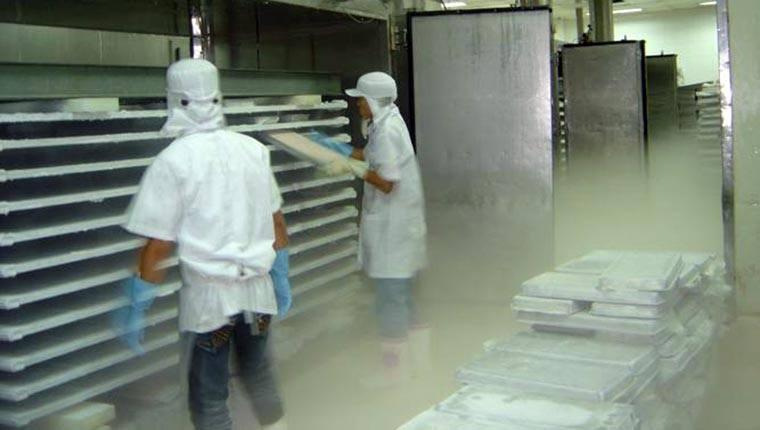 Ưu nhược điểm của hệ thống xả đá bằng điện trở và nước của cụm dàn lạnh công nghiệp Sungjin. Cụm dàn lạnh kho lạnh, dàn lạnh công nghiệp để lắp đặt kho lạnh