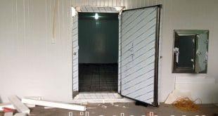 Cửa kho lạnh bảo quản nông sản