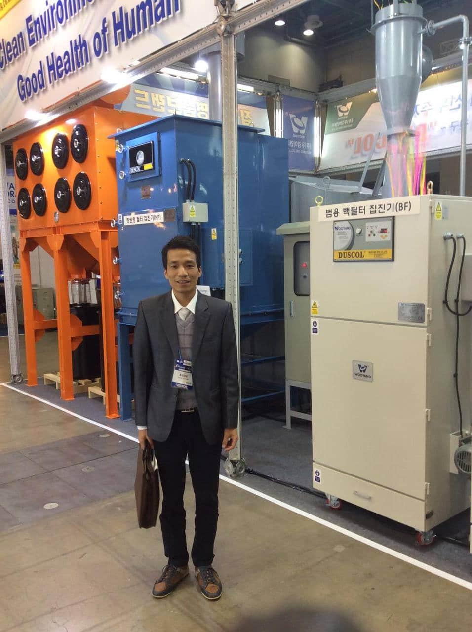 Tham quan máy móc công nghệ ở Hàn Quốc, Hội chợ trển lãm ngành lạnh công nghiệp tại Coex năm 2016