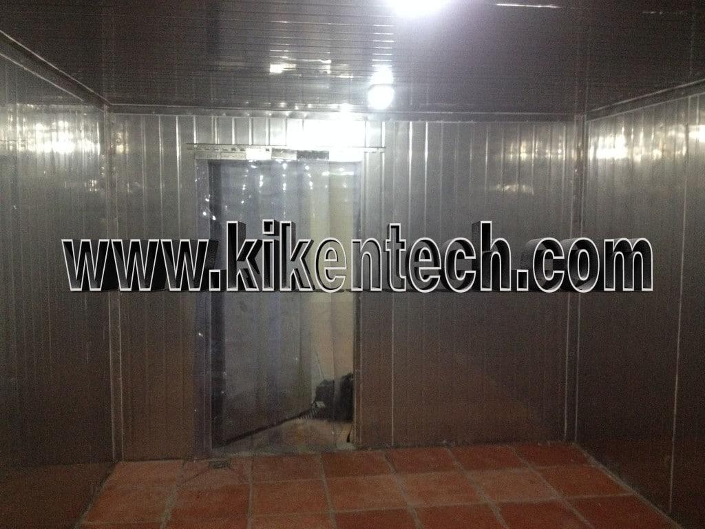 Lắp đặt kho lạnh công nghiệp tại Hà Nội, lắp đặt kho lạnh cho nhà hàng SEN ở Hồ Tây. Hà Nội có nhiều nhà hàng nên nhu cầu lắp đặt kho lạnh bảo quản cao