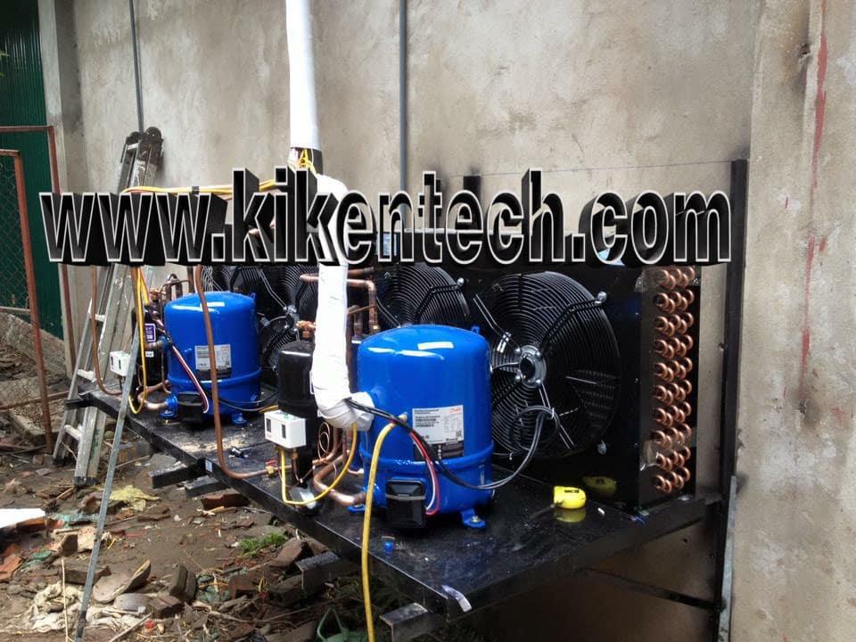 Lắp đặt kho lạnh công nghiệp tại Hà Nội, lắp đặt kho lạnh cho nhà hàng SEN ở Hồ Tây. Lắp đặt kho lạnh công nghiệp cho nhà hàng SEN ở Hồ Tây Hà Nội