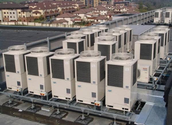Lắp đặt điều hòa công nghiệp CHILLER