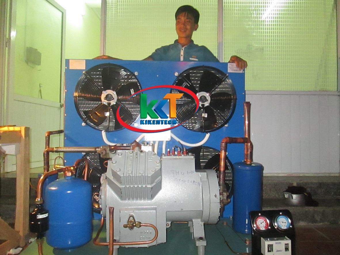 Lắp đặt kho lạnh giá rẻ không phải dùng máy cũ, máy kém chất lượng mà dùng máy móc kho lạnh Sungjin Hàn Quốc cao cấp, có nhà máy ở Vũng Tàu. Kho lạnh giá rẻ