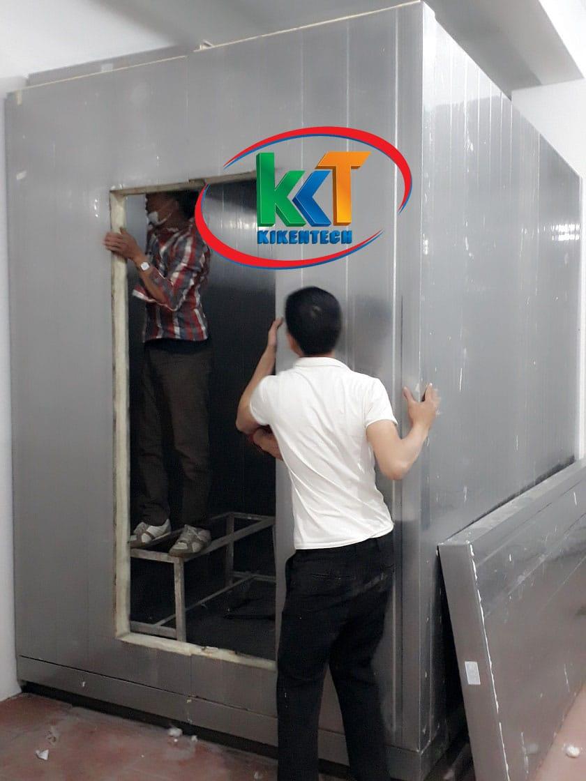 Thi công lắp đặt kho lạnh cấp đông tại khách sạn ở Bắc Ninh, lắp đặt kho lạnh cấp đông uy tín chuyên nghiệp. Làm kho lạnh cấp đông nhanh chất lượng giá rẻ.