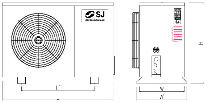 Cụm máy nén dàn ngưng SRI Sungjin chính hãng Hàn Quốc 2