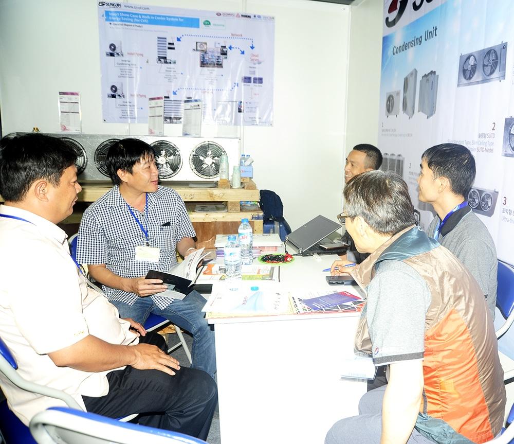 Giới thiệu sản phẩm Sungjin của công ty Kikentech tại hội chợ triễn lãm Expo 2017 (7/9)