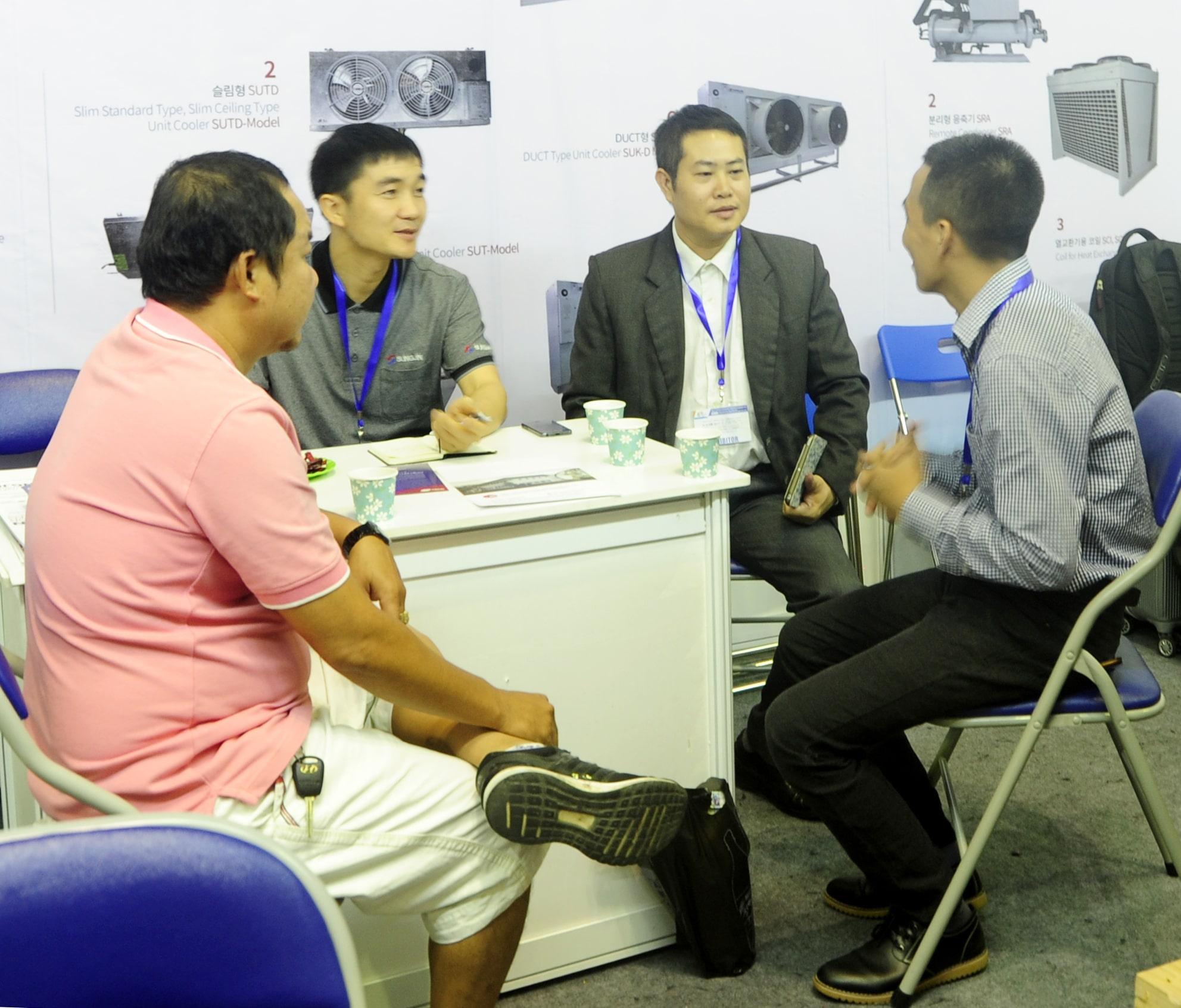 Giới thiệu sản phẩm Sungjin của công ty Kikentech tại hội chợ triễn lãm Expo 2017 (8-9/12)