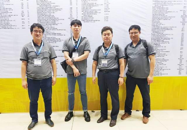 Giới thiệu tổng quan và hình ảnh triễn lãm máy móc công nghiệp lạnh Sungjin tại Philippines. Máy móc kho lạnh Sungjin, cụm máy nén dàn ngưng, cụm dàn lạnh..