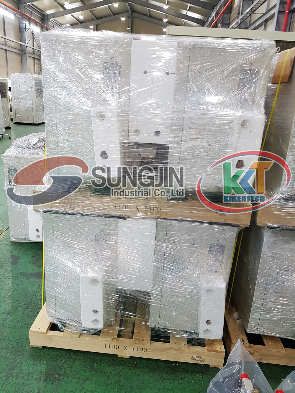 Mua dàn lạnh công nghiệp, cụm máy nén dàn ngưng, cụm máy kho lạnh để lắp đặt kho lạnh tại Kikentech. Mua máy móc kho lạnh Sungjin liên hệ 0944.899.886