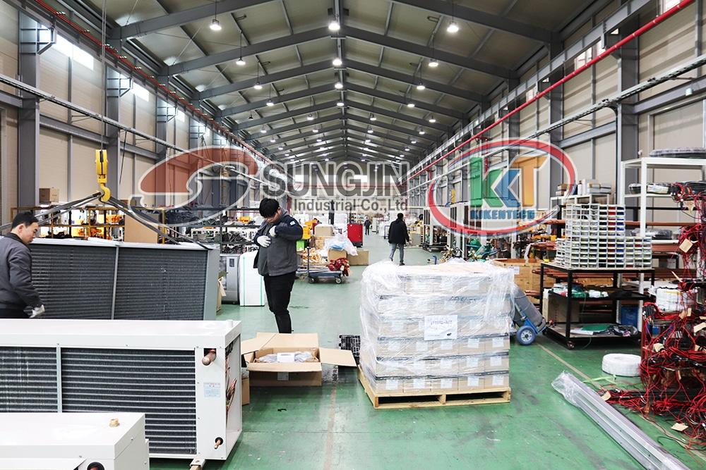 Công ty Kikentech là đơn vị cung cấp máy móc kho lạnh công nghiệp
