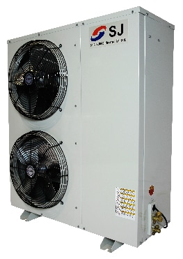 Cụm máy kho lạnh SRPI Sungjin Piston Tecumseh & Copeland 1-5HP sản xuất tại Vũng Tàu theo tiêu chuẩn công nghệ Hàn Quốc được công ty Kikentech bán giá rẻ