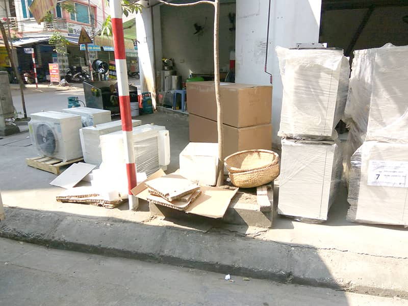 Lắp đặt kho lạnh công nghiệp LG, kho lạnh LG Kikentech