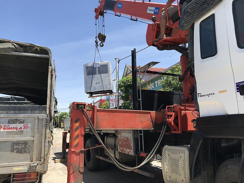 Dự án lắp đặt kho cấp đông bảo quản hải sản tại Hà Tĩnh