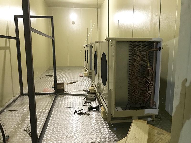 Dự án lắp đặt kho lạnh công nghiệp tại Hà Nội đã hoàn thiện. Hình ảnh, video công trình kho lạnh công nghiệp Hòa Lạc - Hà Nội. Lắp đặt kho lạnh Kikentech