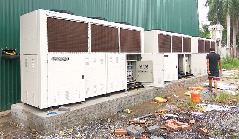 lắp đặt kho lạnh công nghiệp kikentech