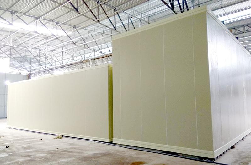 Hoàn thiện dự án lắp đặt kho lạnh công nghiệp tại Hà Nội